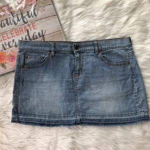 🦋DKNY Jeans Denim Light Wash Skirt | Size 9